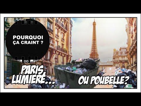 PARIS, VILLE LUMIERE OU POUBELLE? - #RadioLibre