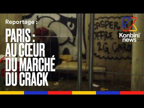 Paris, capitale du crack : reportage à Stalingrad, le marché de la drogue à ciel ouvert l Konbini