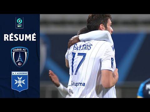 PARIS FC - AJ AUXERRE (0 - 3) - Résumé - (PFC - AJA) / 2020-2021