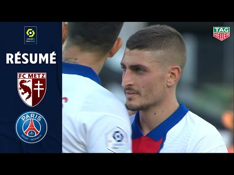 FC METZ - PARIS SAINT-GERMAIN (1 - 3) - Résumé - (FCM - PSG) / 2020-2021