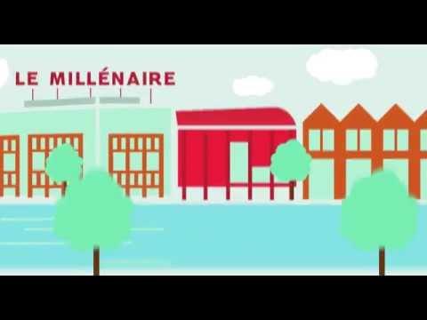 Spot Le Millénaire, le centre commercial du Grand Paris