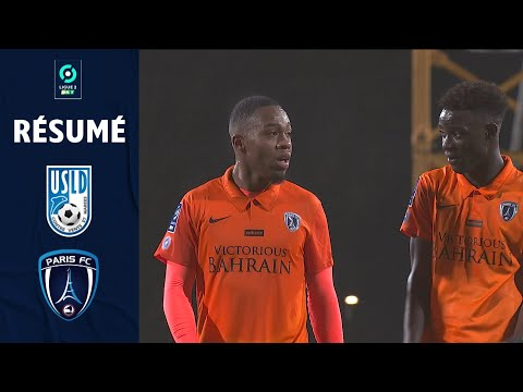 USL DUNKERQUE - PARIS FC (0 - 1) - Résumé - (USD - PFC) / 2020-2021