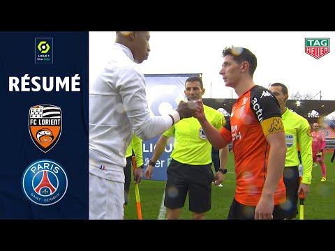 FC LORIENT - PARIS SAINT-GERMAIN (3 - 2) - Résumé - (FCL - PSG) / 2020-2021