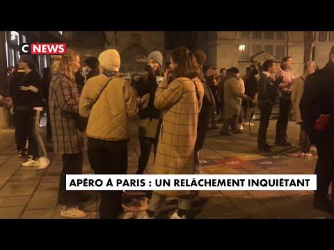 Apéros à Paris : un relâchement inquiétant ?