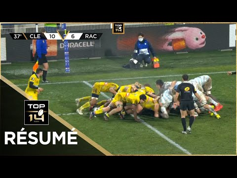 TOP 14 - Résumé ASM Clermont-Racing 92: 22-24 - J13 - Saison 2020/2021