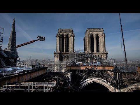 Notre-Dame de Paris : l'ancien échafaudage entièrement démonté