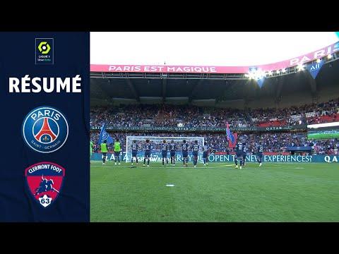 PARIS SAINT-GERMAIN - CLERMONT FOOT 63 (4 - 0) - Résumé - (PSG - CF63) / 2021-2022