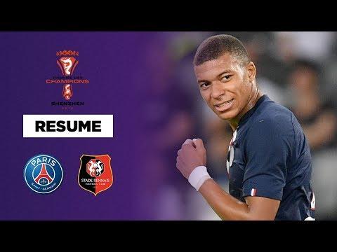 Résumé : Le PSG renverse Rennes et remporte le Trophée des Champions !