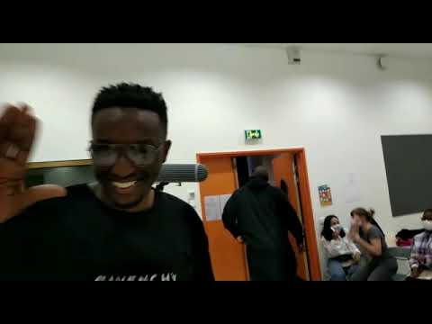 Ahmed Sylla et Nadir Dendoune (L'Ascension) en visite surprise au collège Dora-Maar de Saint-Denis