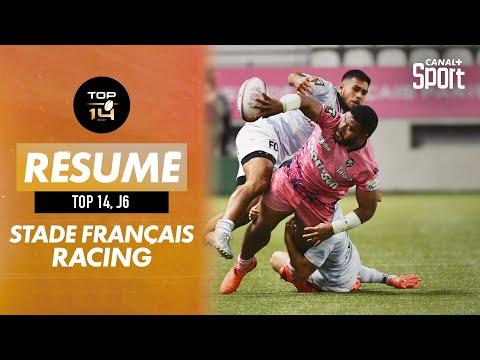Le résumé de Stade Français / Racing