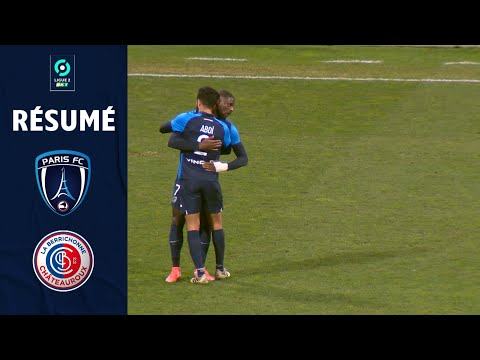 PARIS FC - CHÂTEAUROUX (1 - 0) - Résumé - (PFC - LBC) / 2020-2021