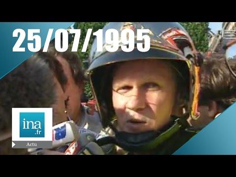 20h France 2 du 25 juillet 1995 - Attentat dans le RER Saint-Michel | Archive INA
