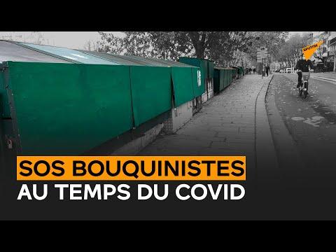 Bouquinistes de Paris : casiers verts fermés, vitrine virtuelle ouverte