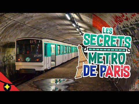 15 SECRETS du METRO DE PARIS