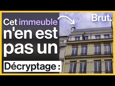 Ce qui se cache derrière les faux immeubles de Paris
