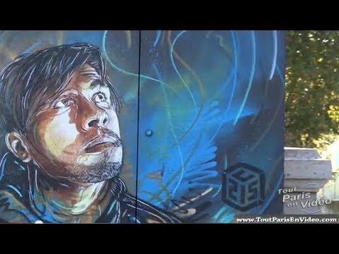 Le Street Art à Paris dans le 13ème arrondissement (Full HD)