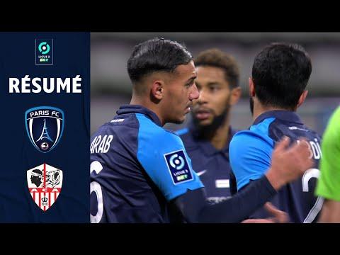 PARIS FC - AC AJACCIO (1 - 1) - Résumé - (PFC - ACA) / 2020-2021