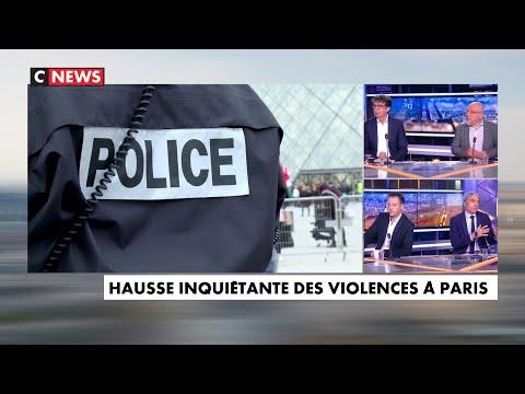 Les chiffres de la violence à Paris sont en forte hausse et inquiètent la population