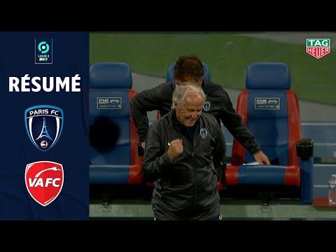 PARIS FC - VALENCIENNES FC(1 - 0 ) - Résumé - (PARIS FC - VAFC) / 2020/2021