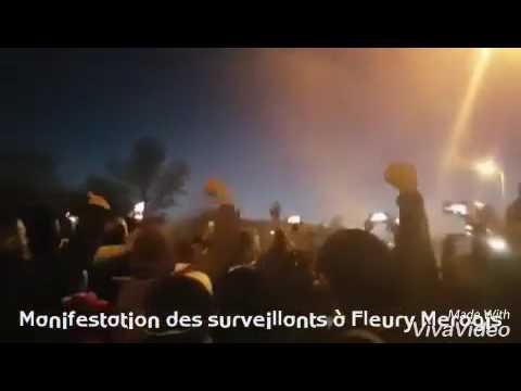 Blocage de la prison de Fleury Mérogis