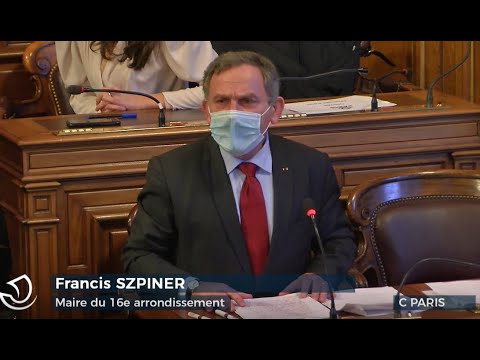 Intervention de Francis Szpiner au Conseil de Paris