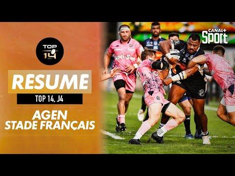 Le résumé Jour de Rugby d'Agen / Stade Français
