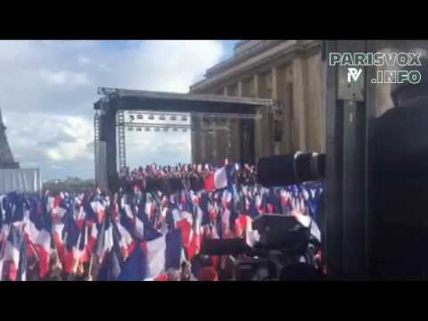 Manifestation Fillon Trocadéro