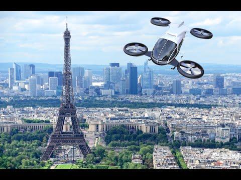 Taxis volants : premiers essais à Paris cet été