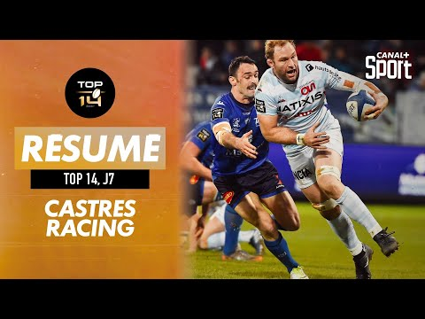 Le résumé de Castres / Racing