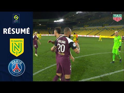FC NANTES - PARIS SAINT-GERMAIN (0 - 3) - Résumé - (FCN - PSG) / 2020-2021