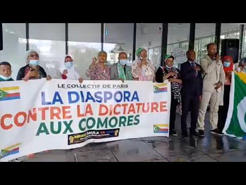 Paris : Mandamano contre le régime Azali