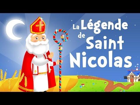 La légende de Saint Nicolas (chanson pour petits avec paroles)