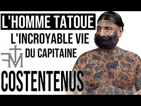 LES TATOUAGES EXTRAORDINAIRES DE COSTENTENUS - Émission présentée par Mikael de Poissy