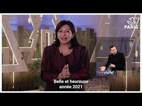 Anne Hidalgo présente ses voeux aux Parisiens pour 2021