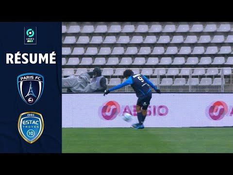 PARIS FC - ESTAC TROYES (1 - 1) - Résumé - (PFC - TR3) / 2020-2021