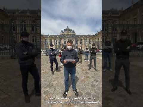 Il y a des Français qui ne se rendent pas ! Mobilisation devant la Préfecture de Versailles le 12/05