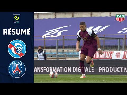 RC STRASBOURG ALSACE - PARIS SAINT-GERMAIN (1 - 4) - Résumé - (RCSA - PSG) / 2020-2021