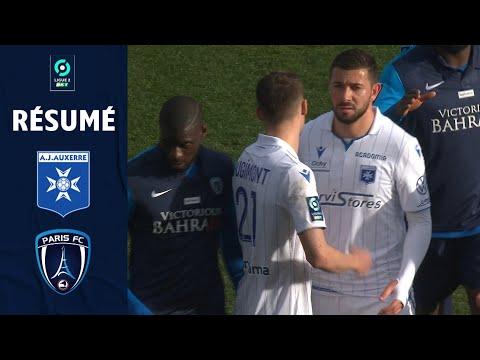 AJ AUXERRE - PARIS FC (0 - 0) - Résumé - (AJA - PFC) / 2020-2021