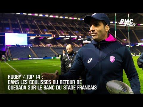 Rugby / Top 14: Dans les coulisses du retour de Quesada au Stade Français