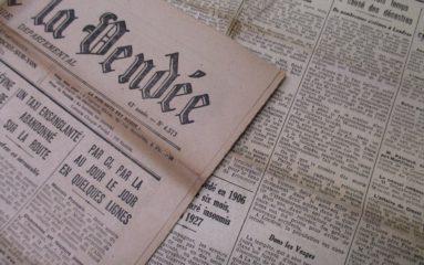 «Retronews»: la presse française de 1631 à 1945