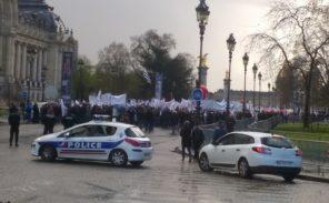 Manifestation des «policiers en colère»
