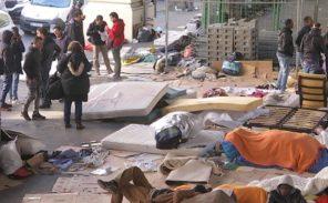 Violente bagarre entre immigrés clandestins à Stalingrad