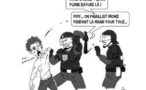 Violences policières: les écolos trinquent aussi…