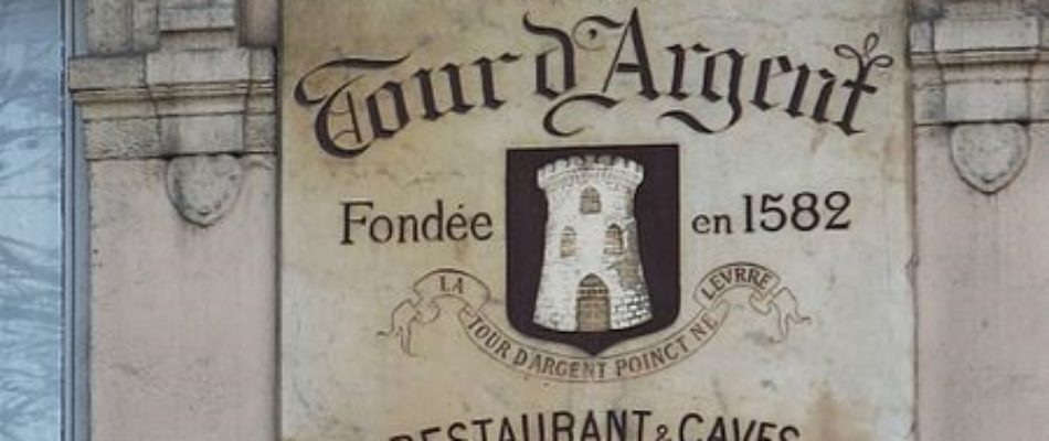 Tour de Tables (2) : La Tour d'Argent