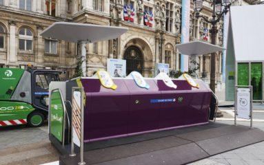 Ecologie: Paris s'équipe de conteneurs publics à déchets recyclables