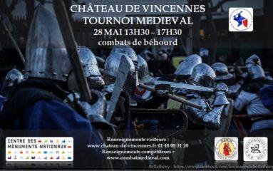 Tournoi de Béhourd au Château de Vincennes