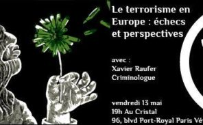 Conférence: la crise terroriste en Europe