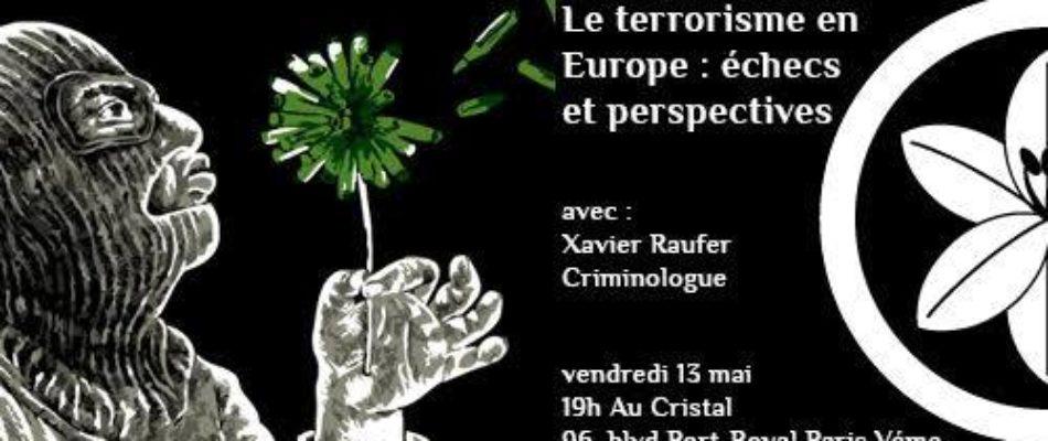 Conférence : la crise terroriste en Europe