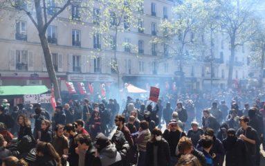1er Mai: incidents et affrontements autours des défilés