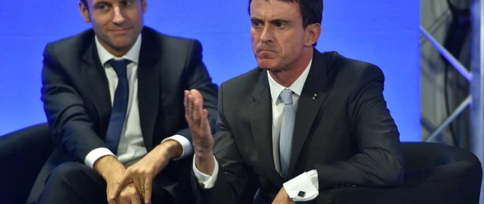 Valls et Macron s'écharpent au Palais Bourbon